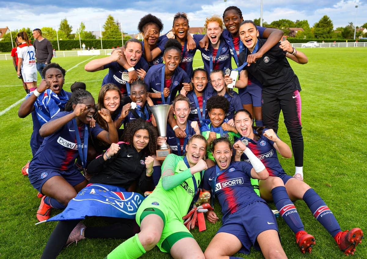 U19 : Le titre du PSG féminin en images - Le Sport au Féminin