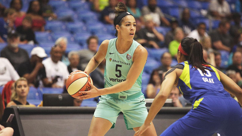 cf8fdfea0901e WNBA : Sans Johannès, New York Liberty remporte le premier match de  pré-saison - Le Sport au Féminin