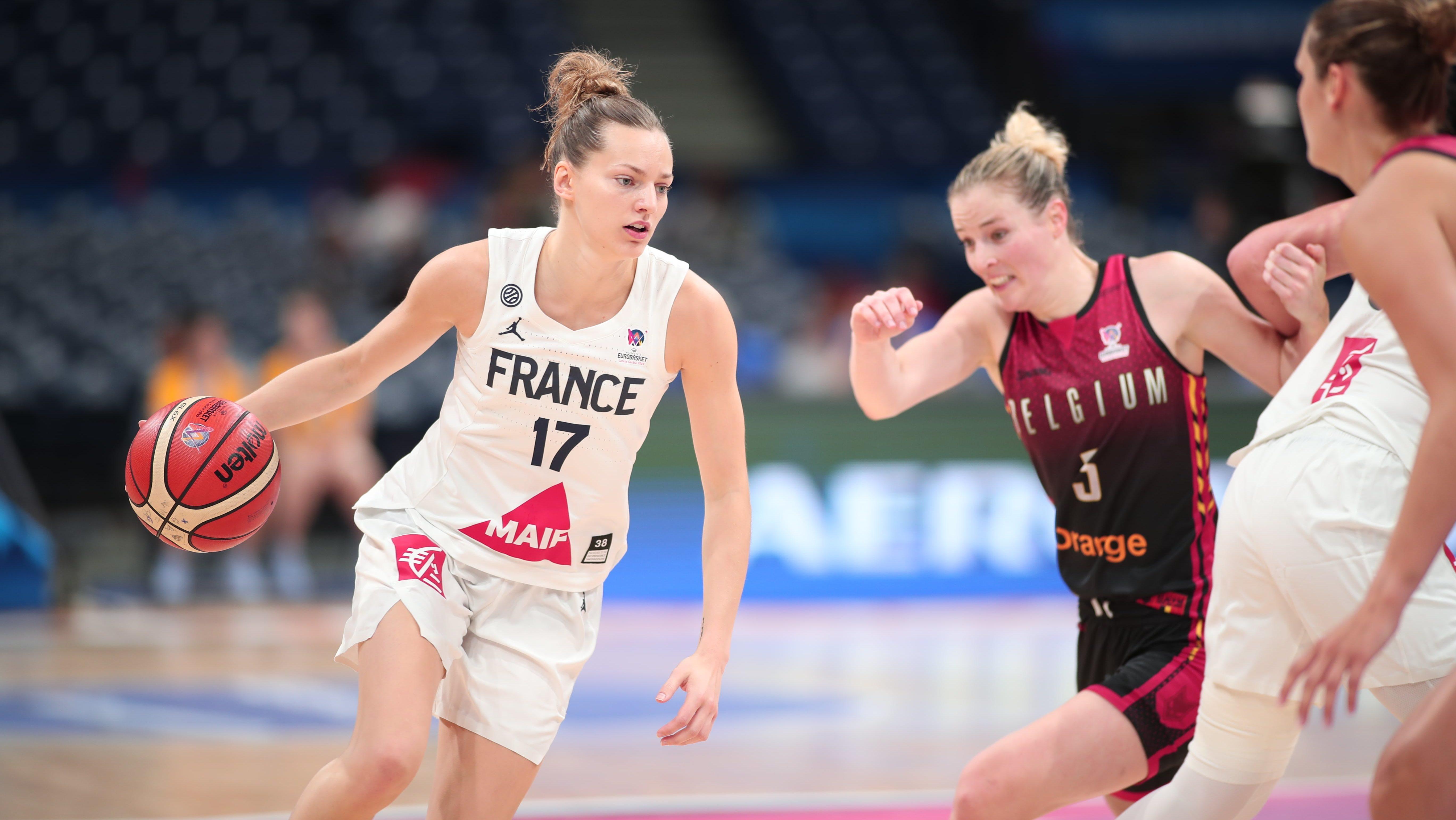 0fd431980d009 WNBA : Marine Johannès à l'épreuve de la WNBA - Le Sport au Féminin