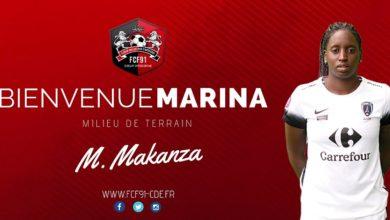 Makenza signe à Fleury
