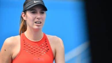 Océane Dodin (WTA Saint-Petersbourg)
