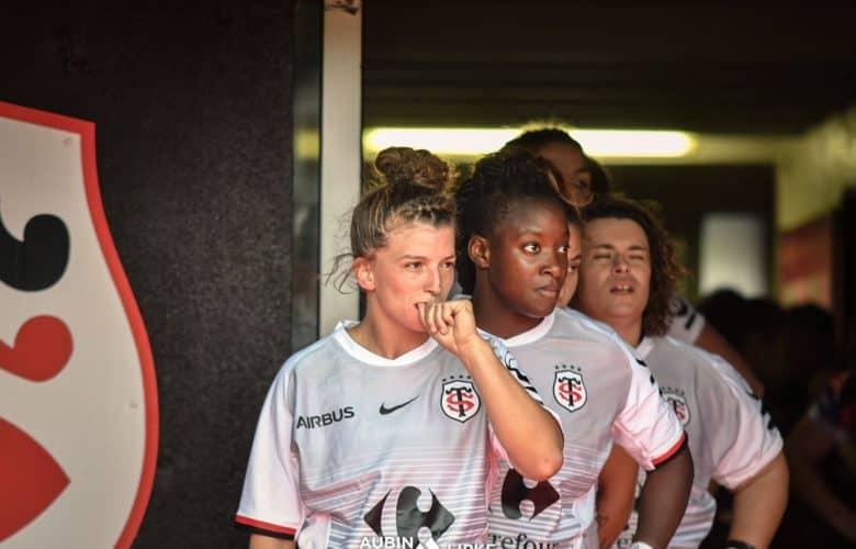 Roxane Bilon, capitaine du Stade Toulousain