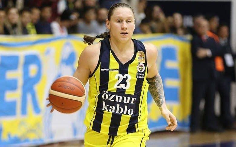 L'arrière ukrainienne Alina Iagupova a reçu le titre individuel de meilleure joueuse de la saison régulière.