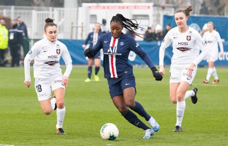 Kadidiatou DIANI - Celia RIGAUD - Stade Jean Bouin - Paris (France)
