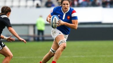 Lenaïg Corson (deuxième-ligne) de l'équipe de France