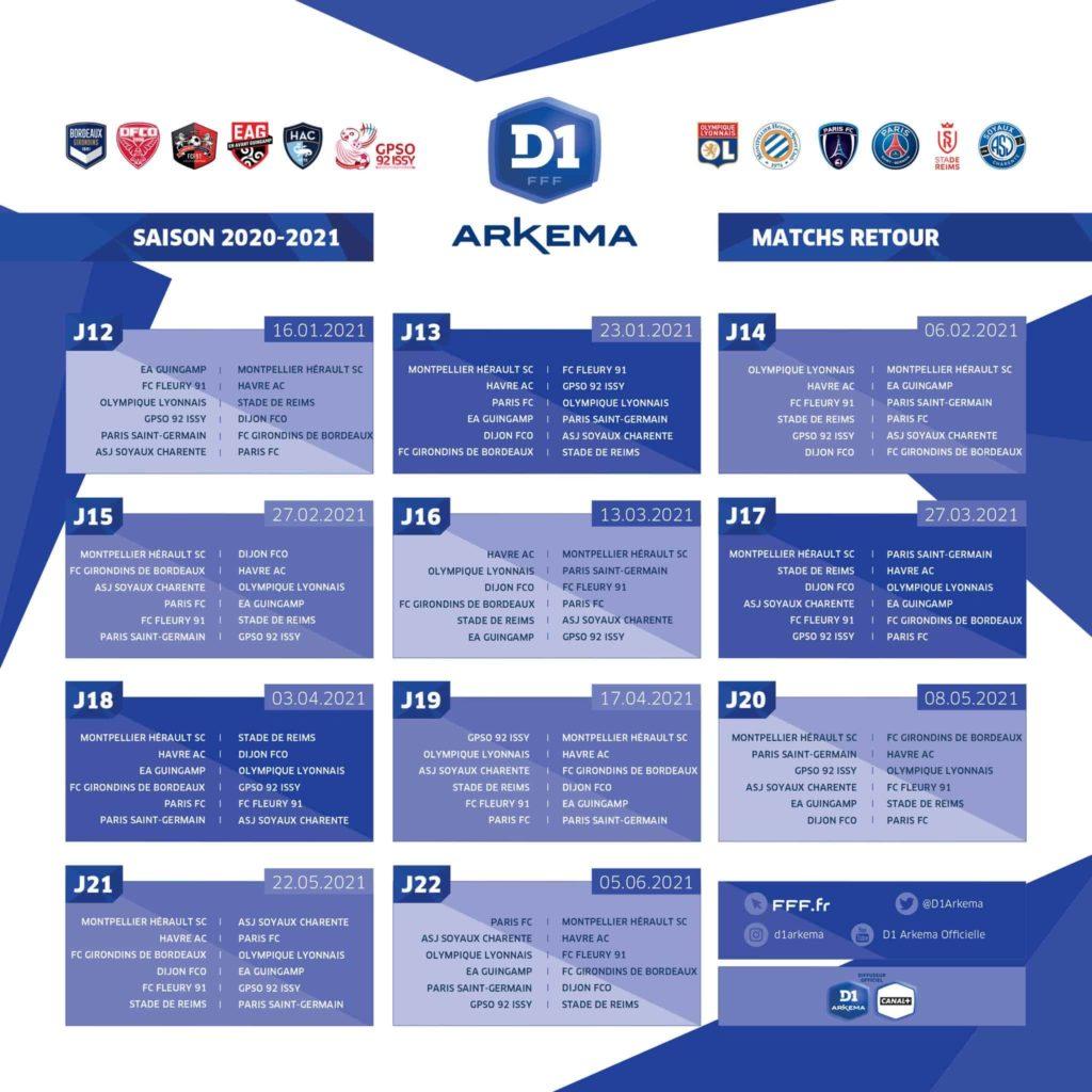 Calendrier Ol 2021 2022 D1 Arkema : Le calendrier de la saison 2020 2021 dévoilé – Le