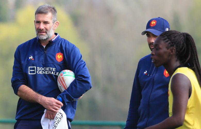 David Courteix (Entraîneur équipe de France de rugby féminine à sept)