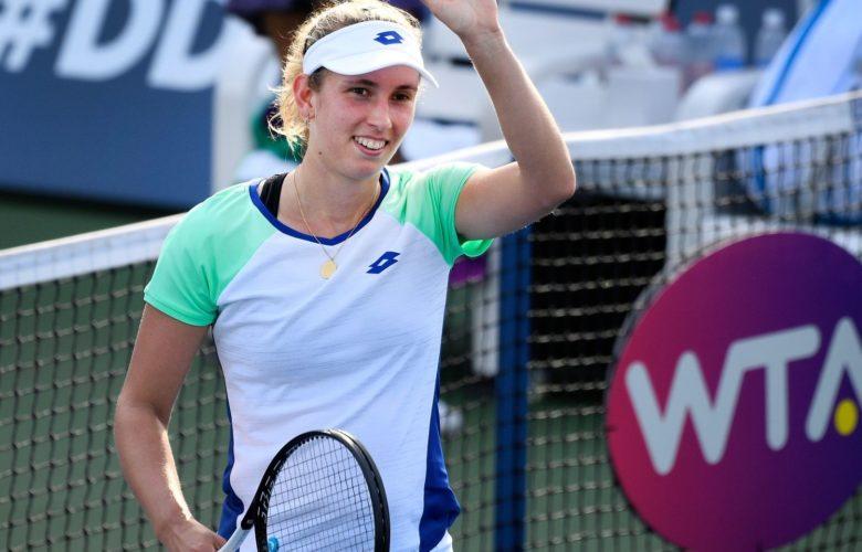Elise Mertens Tennis Belgique WTA Prague