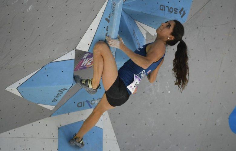 Fanny Gibert escalade
