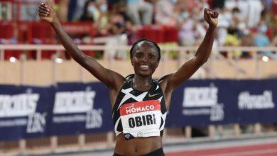 Hellen Obiri athlétisme Kenya