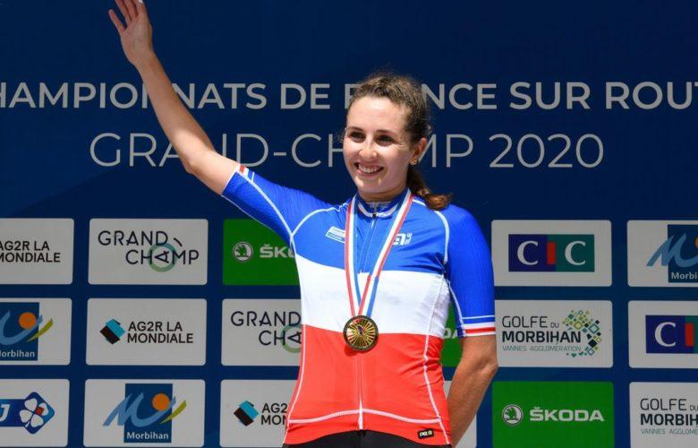 Juliette Labous, championnat de France