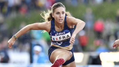 Equipe de France d'Athlétisme, Laura Valette 110 m haies