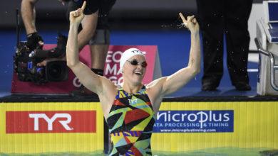 Mélanie Hénique natation CM Marseille