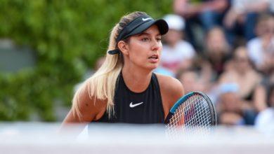 Océane Dodin tennis WTA
