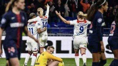 PSG-Lyon football féminin