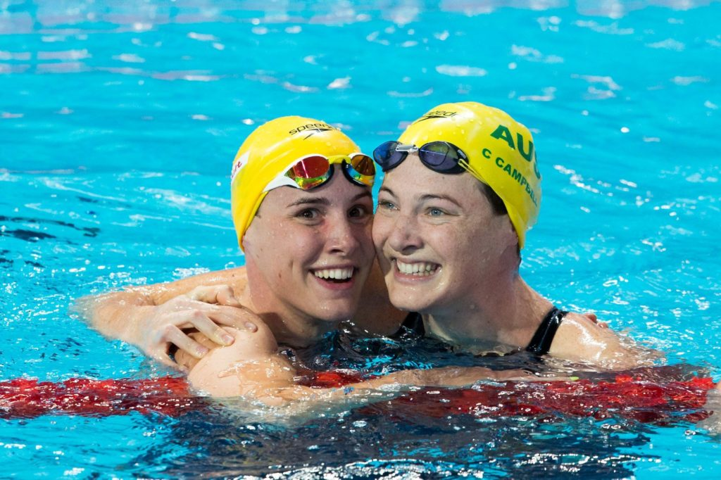 Cate et Bronte Campbell