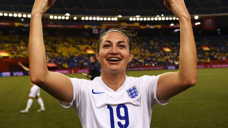 Jodie Taylor, Angleterre, Football, Lyon