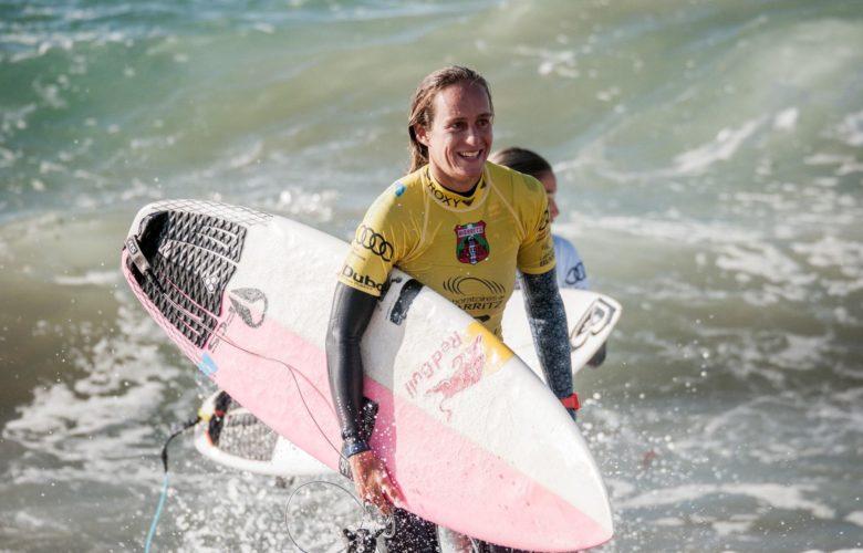 Justine Dupont, surf