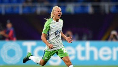 Pernille Harder Wolfsbourg, Danemark, football