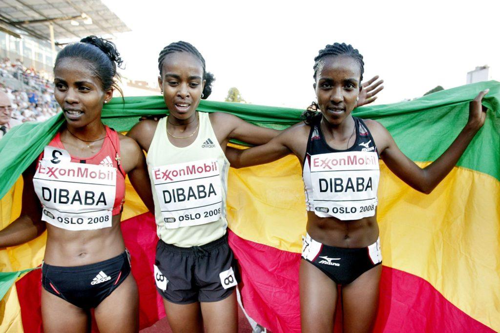 soeurs Dibaba, athlétisme, demi-fond, Ethiopie