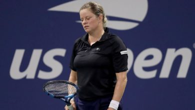 Kim Clijsters US Open Tennis