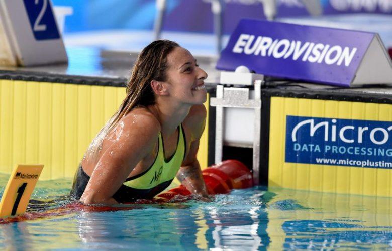 Fantine Lesaffre, natation, Antibes