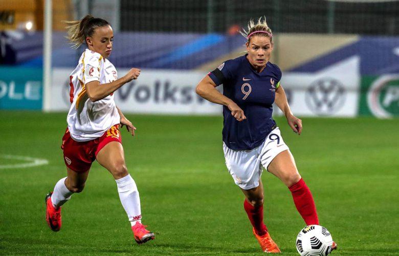 Eugénie Le Sommer - Equipe de France féminine