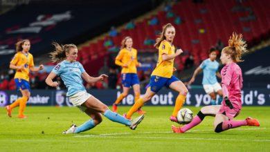 Manchester City Women - Women's FA Cup - Everton