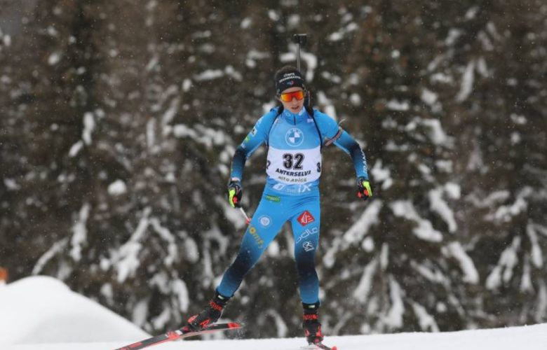 Anais Chevalier Bouchet Biathlon Italie