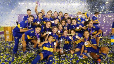 Boca Juniors féminin champion