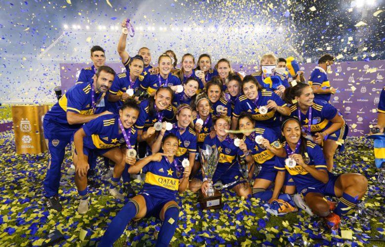 Boca Juniors féminin champion