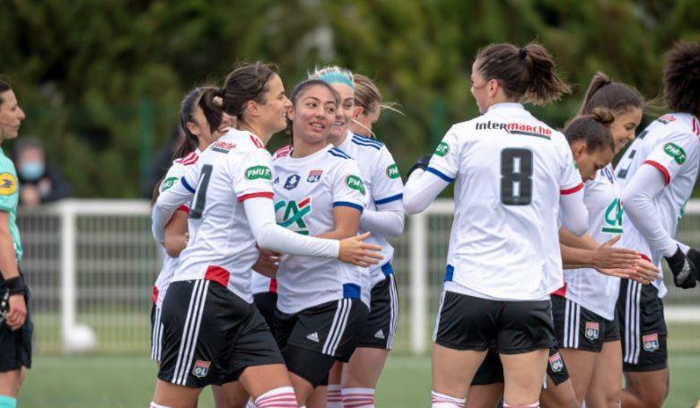 OL REIMS 5-0-Coupe de France