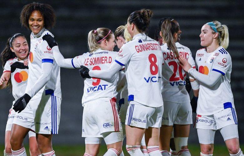 OL Féminin - Reims Féminin - Coupe de France Féminine