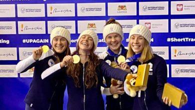 Short Track Championnes Europe