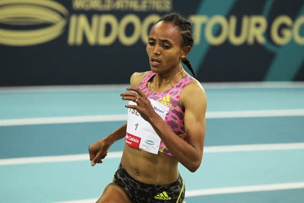 Gudaf Tsegay record women 1500m