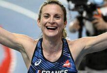 Alice Finot Medaille Argent Euro Indoor