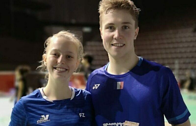 Badminton Open Suisse Delrue Gicquel