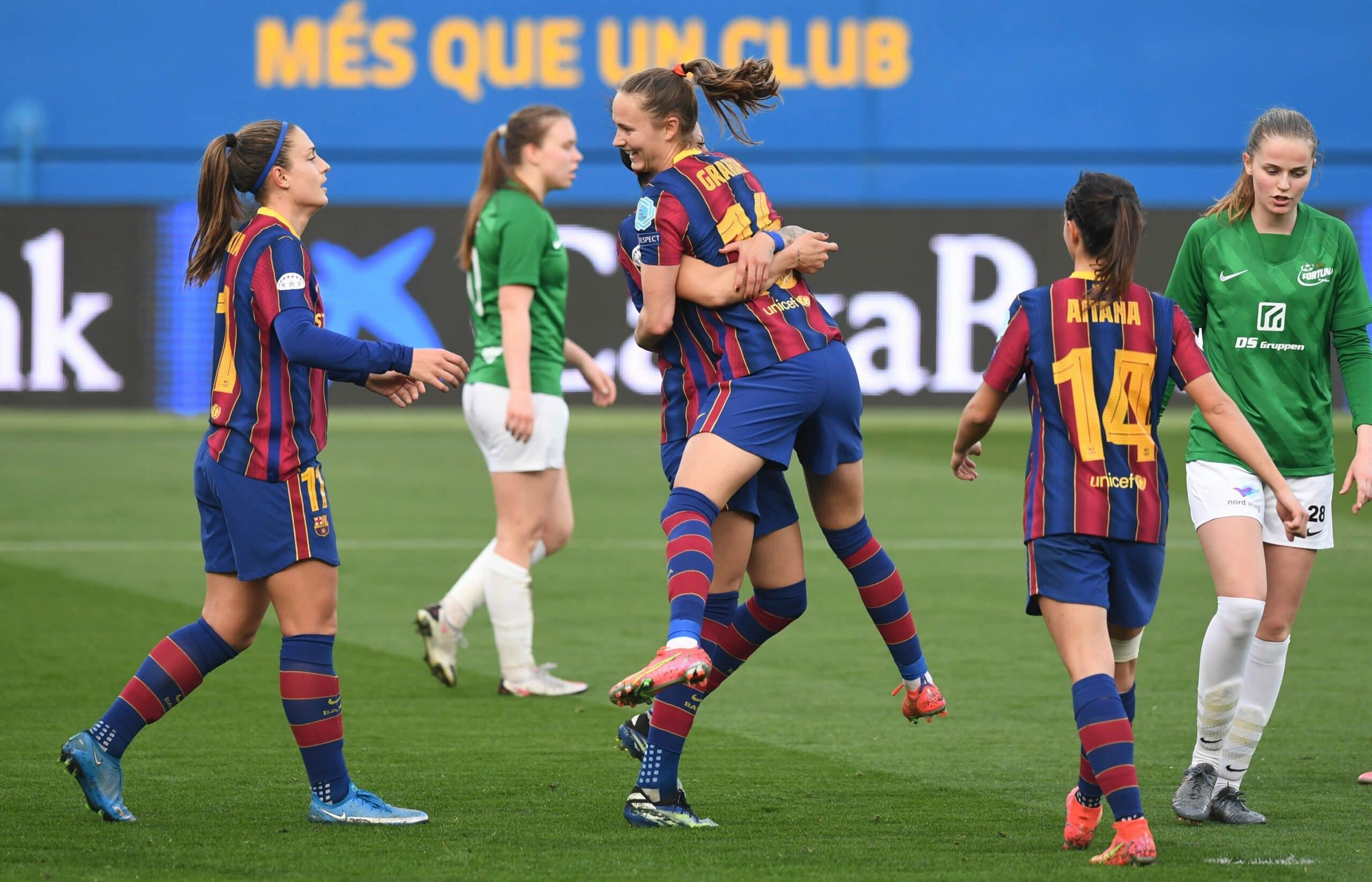 Barca Féminin - UWCL - Football Féminin