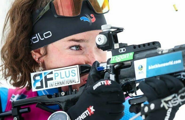 Lou Jeanmonnot Biathlon Coupe du Monde 2021