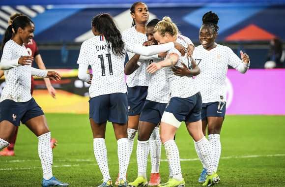 France - Angleterre - Football Féminin