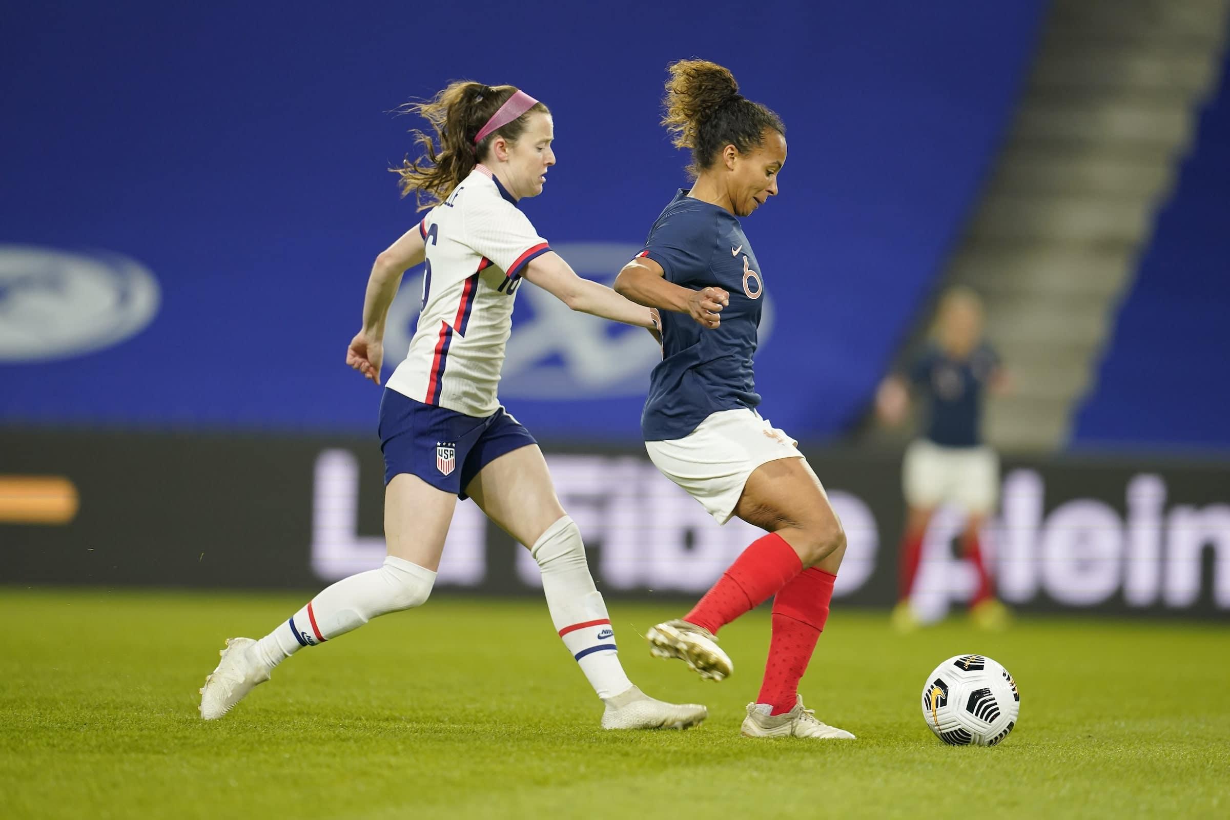 France – Etats-Unis (F) : Eugénie Le Sommer : « Il y avait une classe d'écart entre les deux équipes »