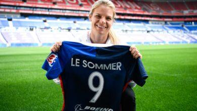 Eugénie Le Sommer - OL Féminin