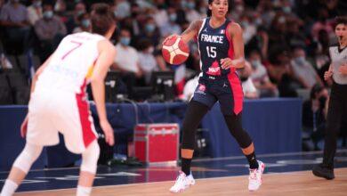France - Espagne - Basketball - Sport Féminin