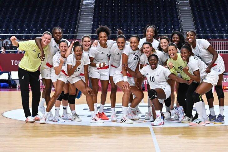 Tokyo 2021 : Les handballeuses tricolores dans le dernier carré après leur succès face aux Pays-Bas