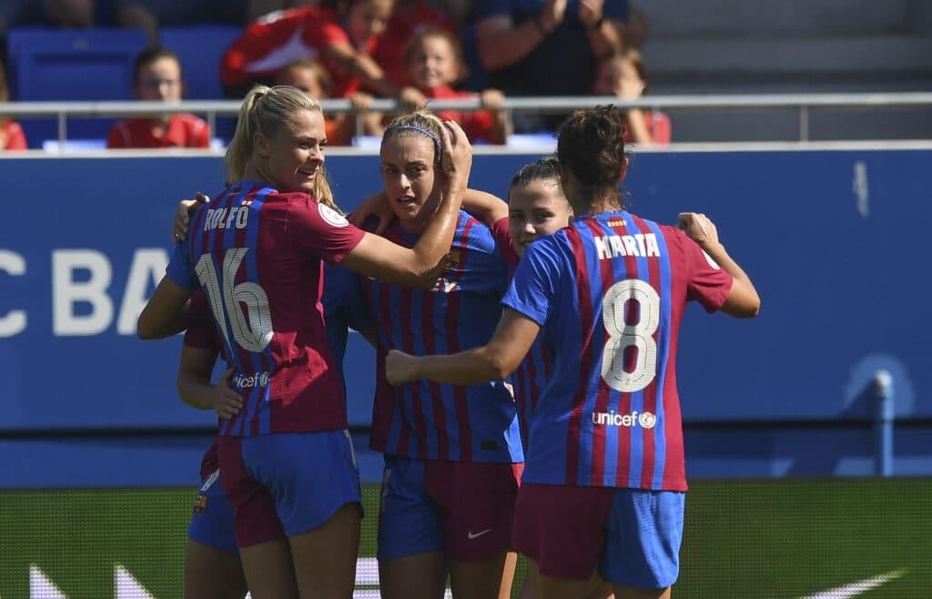 Troisième succès consécutif pour le Barca Féminin en Liga Ellas.